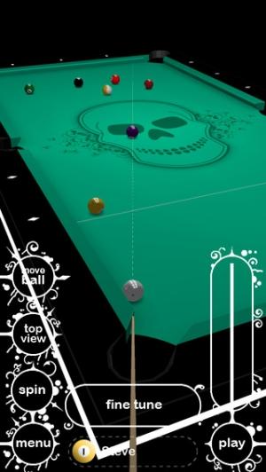 iPhone、iPadアプリ「Killer Pool Lite」のスクリーンショット 2枚目