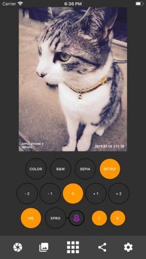 iPhone、iPadアプリ「CameraKit 2」のスクリーンショット 1枚目