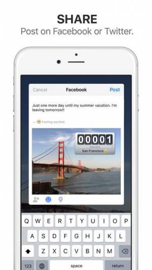 iPhone、iPadアプリ「Big Day Lite - 記念日までの日にちを通知」のスクリーンショット 3枚目