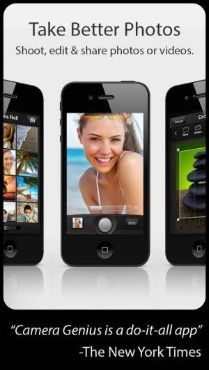 iPhone、iPadアプリ「Camera Genius」のスクリーンショット 1枚目