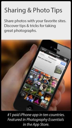 iPhone、iPadアプリ「Camera Genius」のスクリーンショット 4枚目