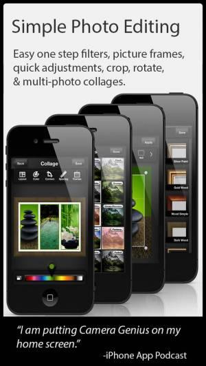 iPhone、iPadアプリ「Camera Genius」のスクリーンショット 3枚目