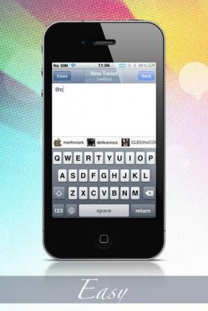 iPhone、iPadアプリ「TwitBird Premium」のスクリーンショット 2枚目