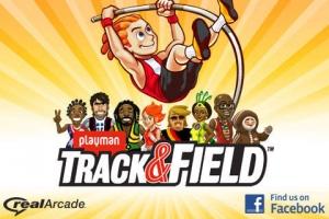 iPhone、iPadアプリ「Playman Track & Field」のスクリーンショット 1枚目