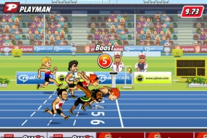 iPhone、iPadアプリ「Playman Track & Field」のスクリーンショット 4枚目