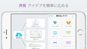 iPhone、iPadアプリ「MindNode 4」のスクリーンショット 4枚目