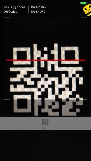 iPhone、iPadアプリ「BeeTagg QR Reader」のスクリーンショット 1枚目