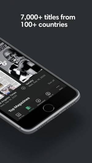 iPhone、iPadアプリ「PressReader」のスクリーンショット 2枚目