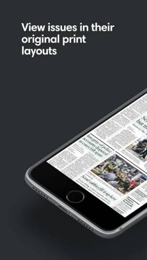 iPhone、iPadアプリ「PressReader」のスクリーンショット 3枚目