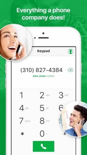 iPhone、iPadアプリ「textPlus: Unlimited Text+Calls」のスクリーンショット 4枚目