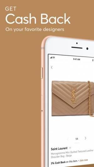 iPhone、iPadアプリ「ShopStyle: Fashion & Cash Back」のスクリーンショット 1枚目
