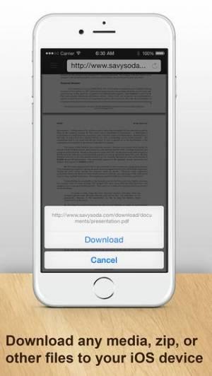 iPhone、iPadアプリ「Documents Pro - Files Editor」のスクリーンショット 5枚目