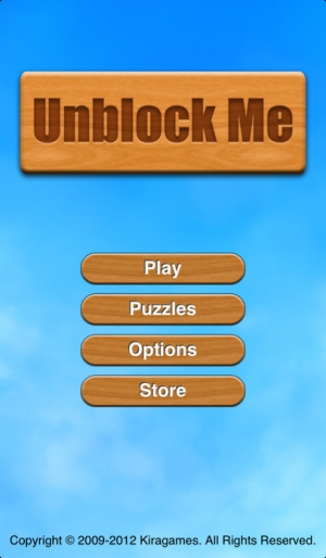 iPhone、iPadアプリ「Unblock Me」のスクリーンショット 5枚目