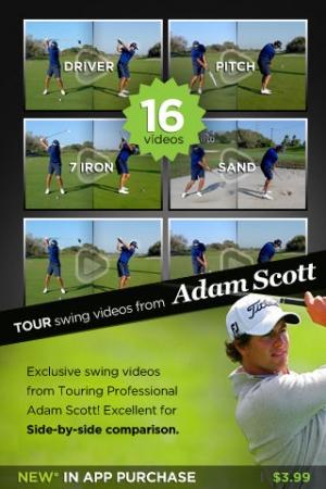 iPhone、iPadアプリ「iSwing Golf」のスクリーンショット 4枚目