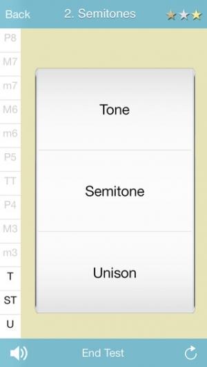 iPhone、iPadアプリ「RelativePitchLite」のスクリーンショット 2枚目