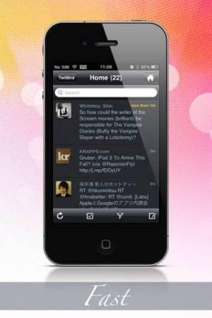 iPhone、iPadアプリ「TwitBird Pro for Twitter」のスクリーンショット 3枚目