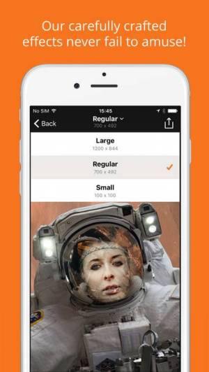iPhone、iPadアプリ「PhotoFunia」のスクリーンショット 5枚目