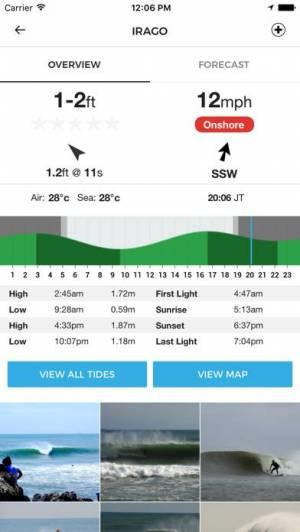 iPhone、iPadアプリ「MSW 予測サーフ」のスクリーンショット 1枚目