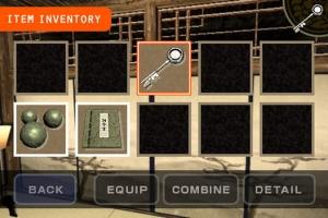 iPhone、iPadアプリ「iEscaper! -忍者屋敷からの脱出-」のスクリーンショット 4枚目