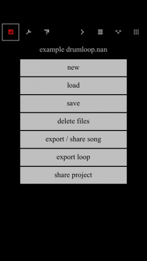 iPhone、iPadアプリ「nanoloop」のスクリーンショット 4枚目