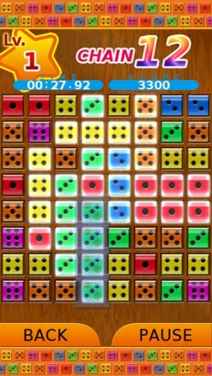 iPhone、iPadアプリ「カウントダイスパズル lite」のスクリーンショット 1枚目