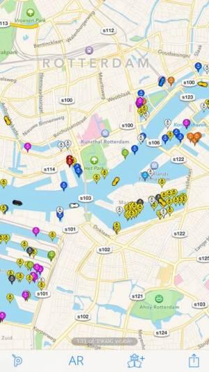 iPhone、iPadアプリ「Ship Finder Lite」のスクリーンショット 4枚目