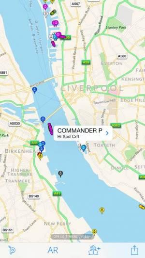 iPhone、iPadアプリ「Ship Finder Lite」のスクリーンショット 2枚目