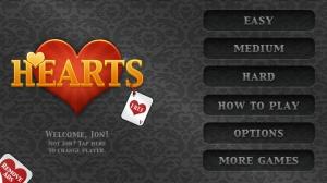 iPhone、iPadアプリ「Hearts Free」のスクリーンショット 1枚目