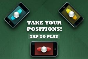 iPhone、iPadアプリ「Finger Foos」のスクリーンショット 1枚目
