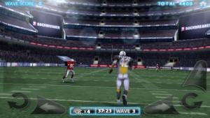 iPhone、iPadアプリ「Backbreaker Football」のスクリーンショット 1枚目