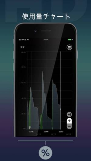 iPhone、iPadアプリ「バッテリー HD+」のスクリーンショット 5枚目