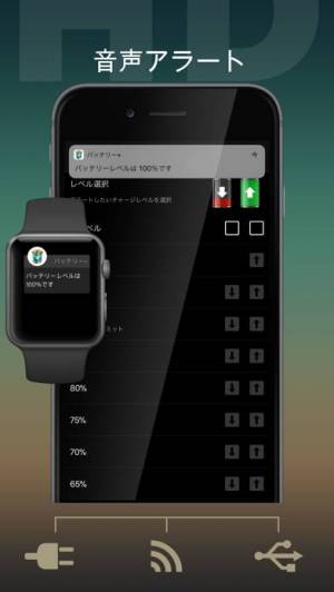 iPhone、iPadアプリ「バッテリー HD+」のスクリーンショット 3枚目
