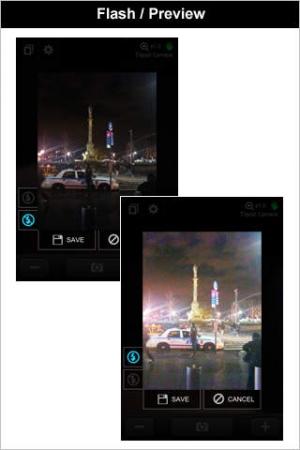iPhone、iPadアプリ「トライポッドカメラ (+ライト&ズーム)」のスクリーンショット 2枚目
