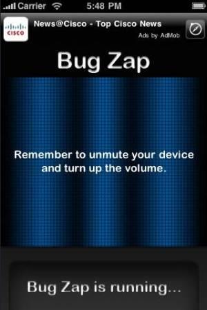 iPhone、iPadアプリ「携帯虫除け (無料)」のスクリーンショット 1枚目