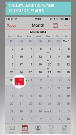 iPhone、iPadアプリ「Good for Enterprise」のスクリーンショット 4枚目