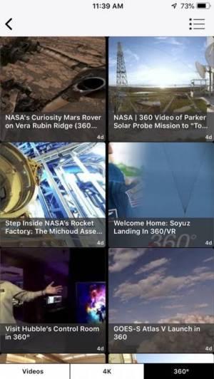 iPhone、iPadアプリ「NASA」のスクリーンショット 4枚目