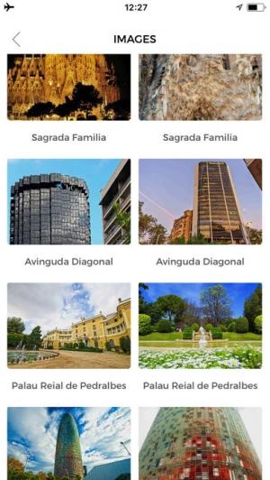 iPhone、iPadアプリ「バルセロナ 旅行 ガイド &マップ」のスクリーンショット 5枚目