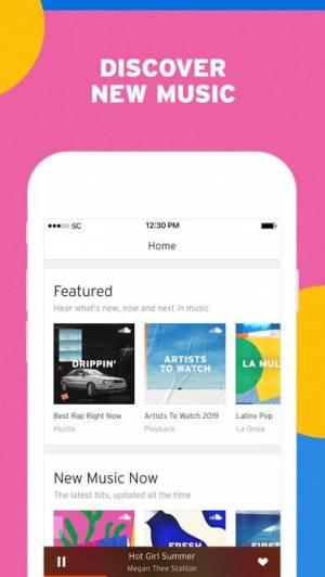 iPhone、iPadアプリ「SoundCloud: 音楽&オーディオ」のスクリーンショット 2枚目