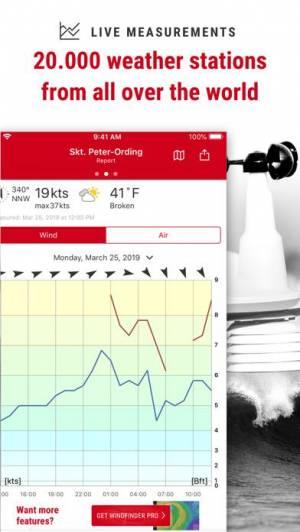 iPhone、iPadアプリ「Windfinder」のスクリーンショット 4枚目