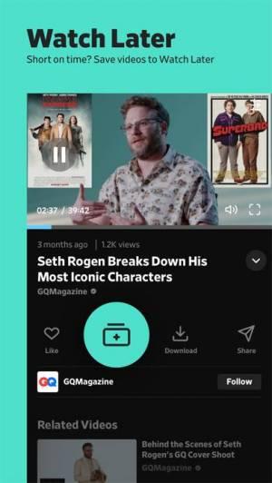 iPhone、iPadアプリ「Dailymotion」のスクリーンショット 3枚目
