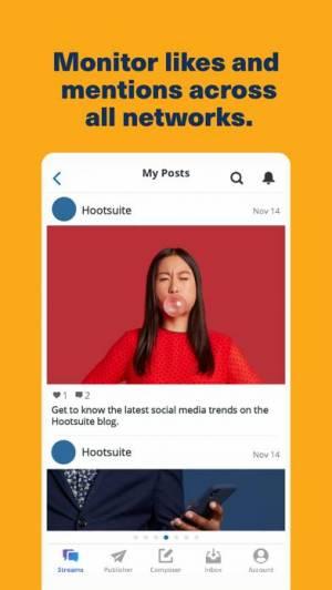 iPhone、iPadアプリ「Hootsuite」のスクリーンショット 5枚目