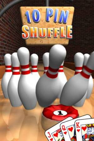 iPhone、iPadアプリ「10 Pin Shuffle ボウリング」のスクリーンショット 1枚目
