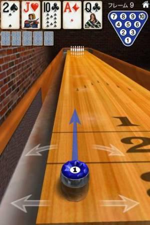 iPhone、iPadアプリ「10 Pin Shuffle ボウリング」のスクリーンショット 3枚目