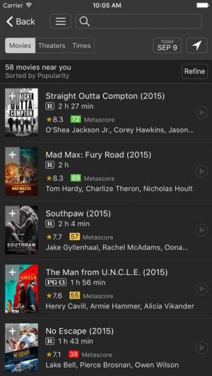 iPhone、iPadアプリ「IMDb Movies & TV」のスクリーンショット 2枚目