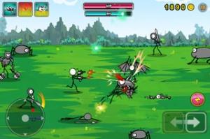 iPhone、iPadアプリ「Cartoon Wars: Gunner」のスクリーンショット 2枚目