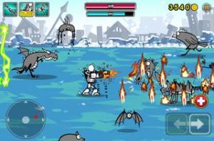iPhone、iPadアプリ「Cartoon Wars: Gunner」のスクリーンショット 3枚目