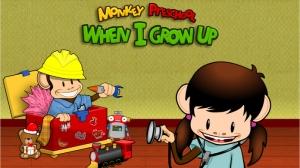 iPhone、iPadアプリ「Monkey Preschool: When I Grow Up (Holiday Edition)」のスクリーンショット 1枚目