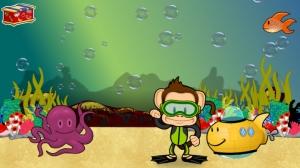 iPhone、iPadアプリ「Monkey Preschool: When I Grow Up (Holiday Edition)」のスクリーンショット 2枚目