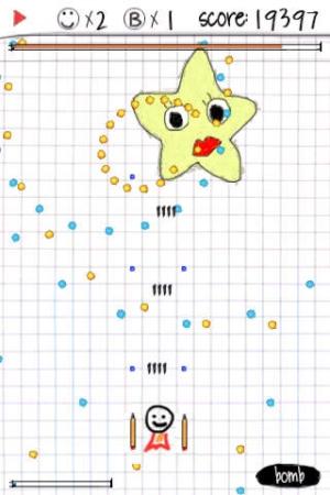 iPhone、iPadアプリ「A_Doodle_Flight Lite」のスクリーンショット 1枚目