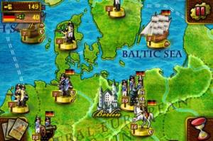 iPhone、iPadアプリ「欧陸戦争 Lite」のスクリーンショット 1枚目